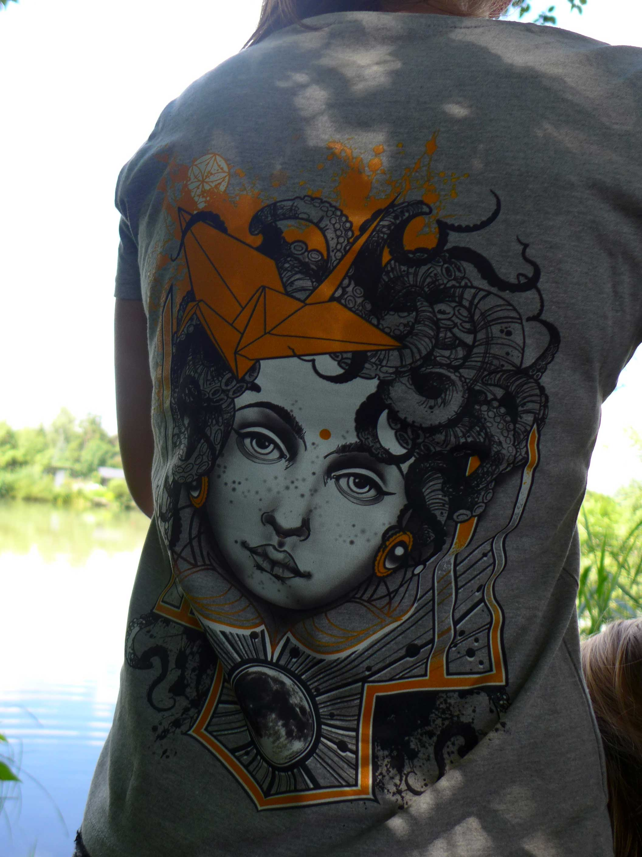 T-Shirt Woman - MEDUSA Grey Edition